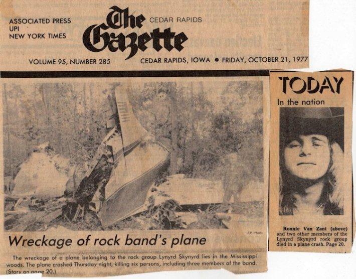 20 October 1977 LynyrdSkynyrd google image 1