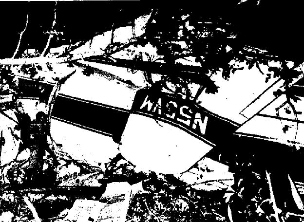 Skynyrd 1 N55VM-wreck-tail