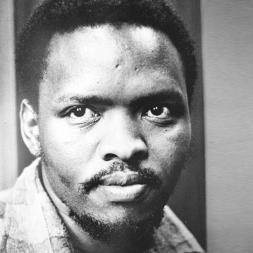 Steve Biko portrait. Photographer unknown.