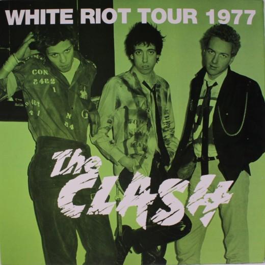 The Clash White Riot Tour 1977