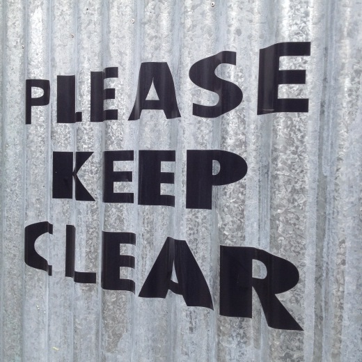 Lee Booth, Please Keep Clear, iPhone 4s photo, digital image (Jpg), 2015, 2448 × 2448px