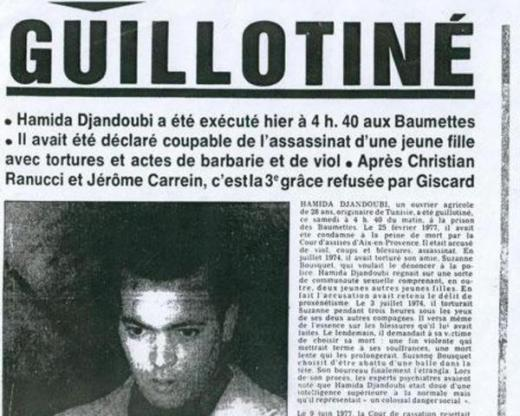 Guillotiné Headline