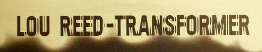 Lou Reed transformer-type 1972