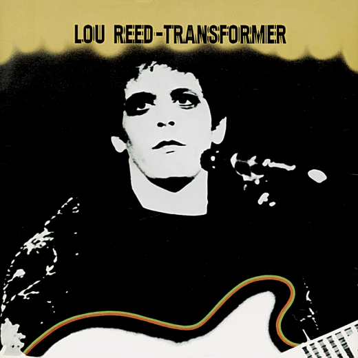 Lou Reed Transformer, 1972, Produced by david bowie and Mick Ronson.