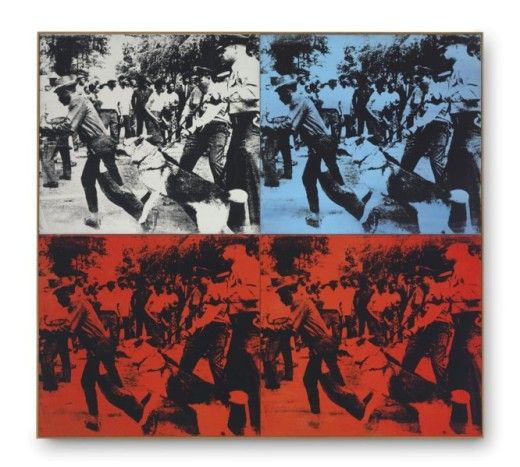 Andy Warhol, Race riot, 1964