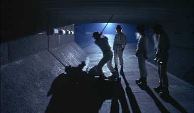 A Clockwork Orange – Tramp scene